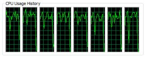 Rendering on a 4 Core Xeon CPU with HT
