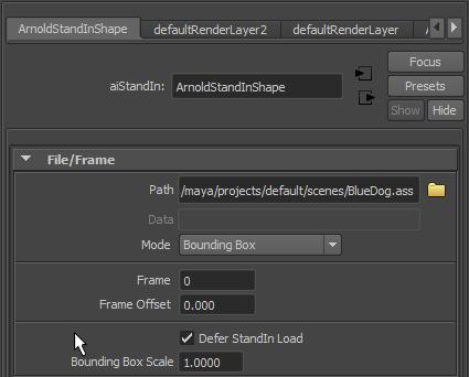 Scripting | Arnold Support Corner